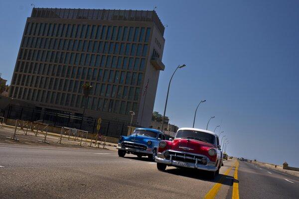 Americká ambasáda v Havane.