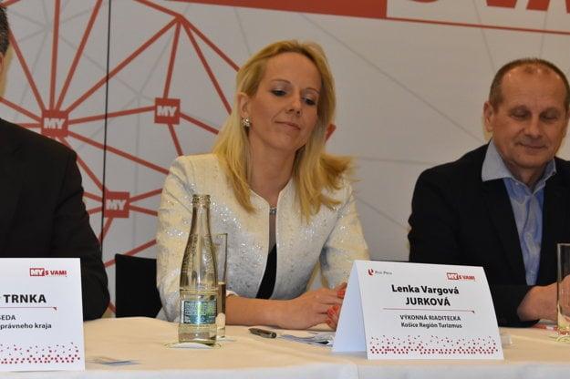 Lenka Vargová Jurková, výkonná riaditeľka Košice Región Turizmus.