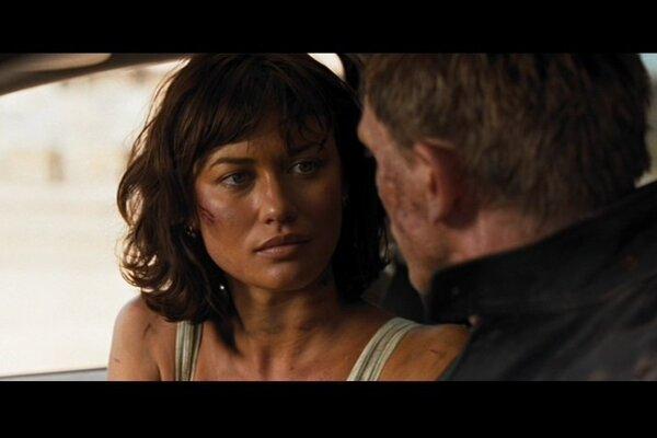 S Danielom Craigom v bondovke Quantum of Solace (2008).