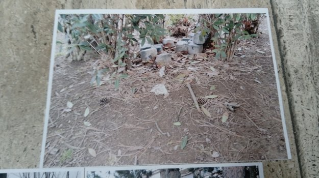 Úrad vlády poskytol médiám fotografie dlažobných kociek. Zo záberov sa nedá vyčítať, kedy boli fotky zhotovené.