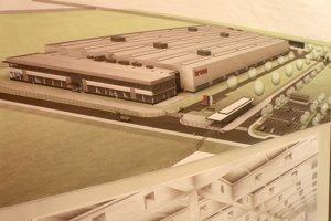 Takto by mal vyzerať závod nemeckej firmy Brose v Prievidzi.