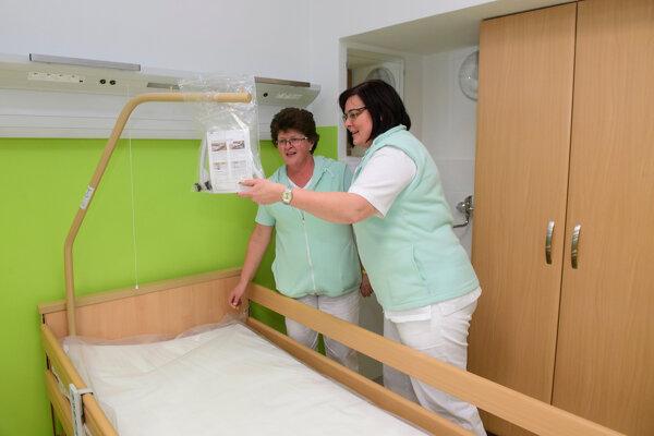 V považskobystrickej nemocnici pribudlo nové geriatrické oddelenie.