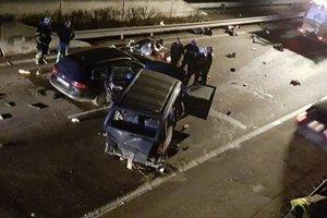 Tragická nehoda na diaľnici.