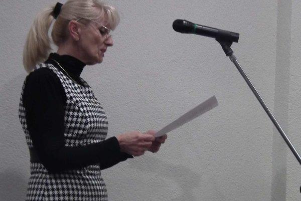 Darina Orálková sa nazdáva, že k prerokovaniu petície mala by prizvaná.
