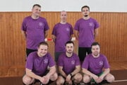 Víťazi turnaja - rozhodcovia z Kysuckej doliny.