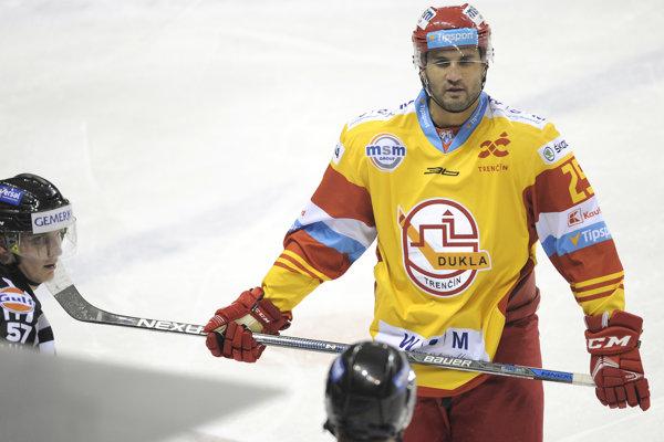 André Deveaux je v Trenčíne spokojný.