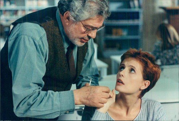 Ettore Scola pri nakrúcaní Románu o chudobnom chlapcovi.