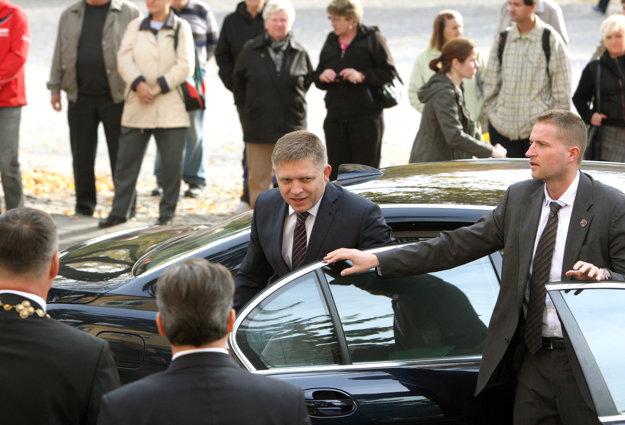 Október 2013. Výjazdové zasadanie vlády v Handlovej.