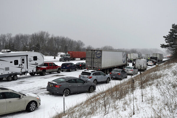 Havária sa stala na diaľnici Interstate 71.