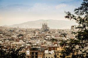 Výhľad na Barcelonu.