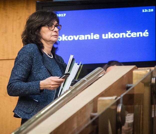 Ministerka Žitňanská nebude pokračovať v budúcej vláde.
