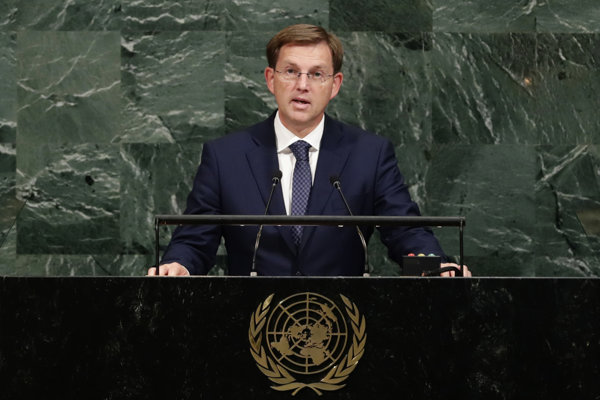Slovisnký premiér Miro Cerar.