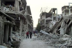 Centrum sýrskeho Homsu bolo v roku 2014 zničené.