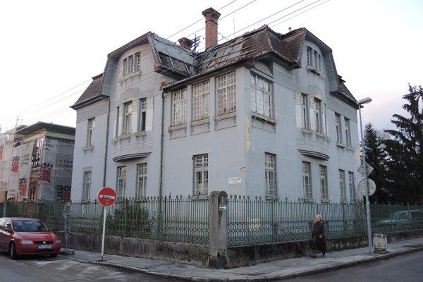 O vilu v centre mesta nie je reálny záujem.