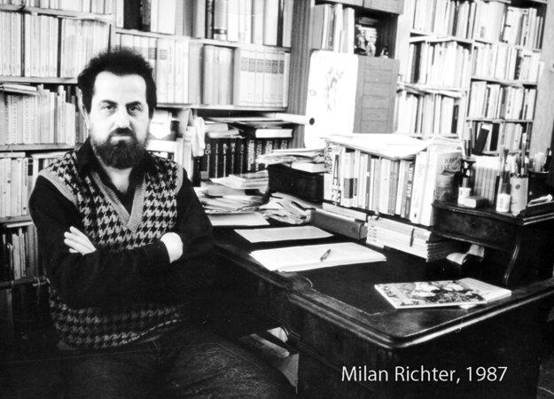 Milan Richter v roku 1987