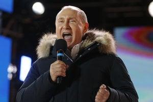 Ruský prezident Putin obhájil svoj mandát.