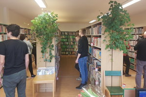 Vynovenú knižnicu otvorili minulý týždeň.