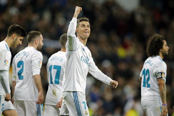 Cristiano Ronaldo ešte v drese Realu Madrid.