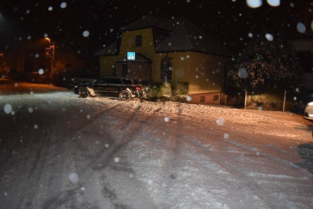 Nočná nehoda v Nemšovej.