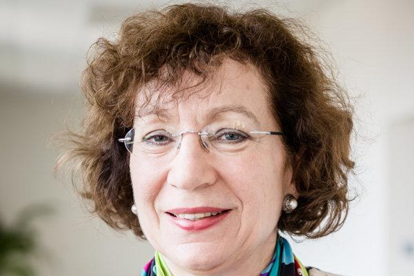 Sociologička Oľga Gyarfášová.