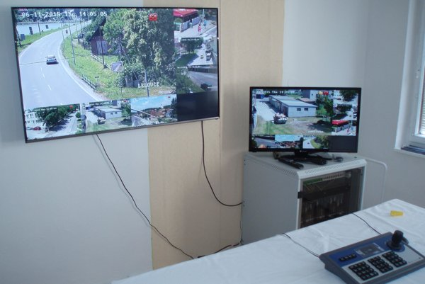 Nové kamery v Novákoch majú eliminovať kriminalitu.