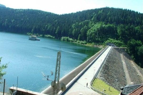 Vodná nádrž v Turčeku.