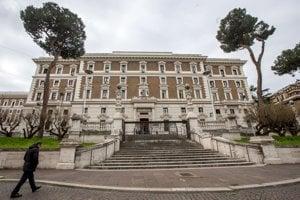 Budova talianskeho ministerstva vnútra.