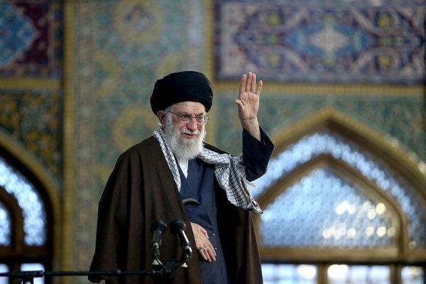 Iránsky najvyšší duchovný vodca Alí Chameneí.