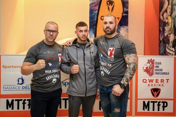 Zľava: Štefan Bohinský, Róbert Rácz a Lukáš Filka.