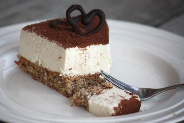 Mandľovo-smotanová nízkosacharidová torta
