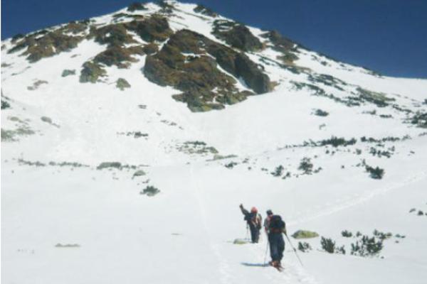 V Žiarskej doline je areál vyhradený pre skialpinistov.
