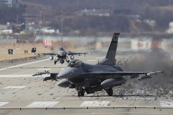 Stíhačka F-16. Ilustračné foto