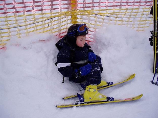 V Alpách je už veľa zariadení priateľských k deťom.