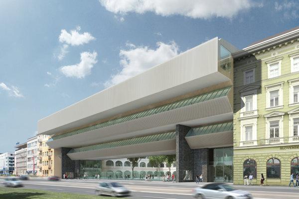 Premostenie SNG zachová pôvodnú architektúru Vladimíra Dědečku.