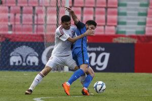 Michal Ďuriš (vpravo) aj v Thajsku ukázal zlepšenú formu.