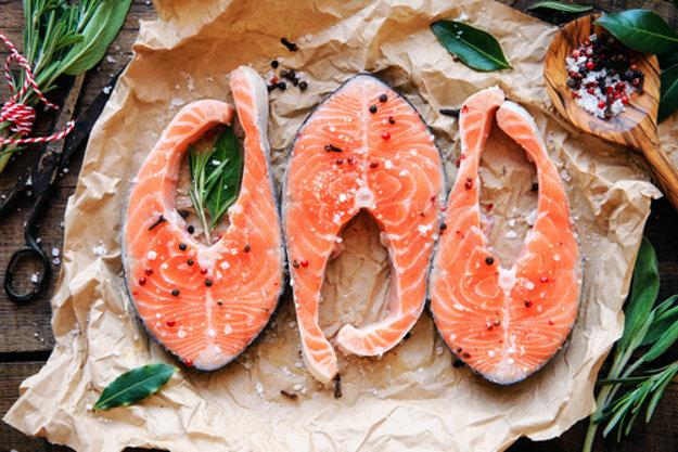Morské ryby sú zdrojom zdravého tuku.