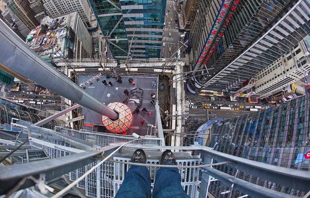 Times square v  New Yorku.