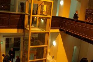 Opravená synagóga v Trnave.