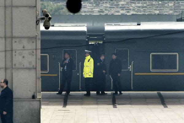 Vlak v utorok opustil čínsku metropolu Peking.