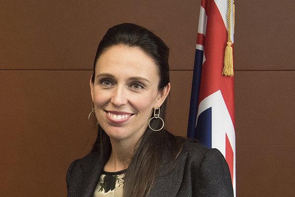 Premiérka Nového Zélandu Jacinda Ardernová.