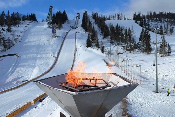 Olympijský oheň vTatrách bola iba fikcia.