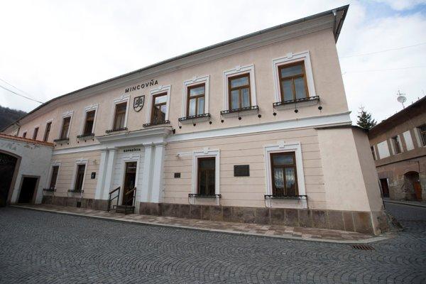 Budova Mincovne Kremnica.
