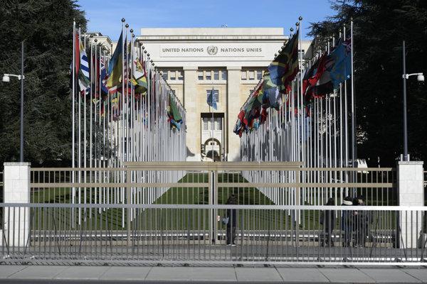 Európske sídlo OSN v Ženeve.