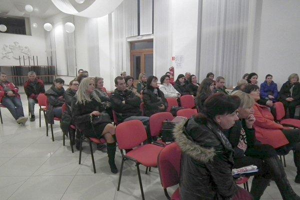 Stretnutie učiteľov a rodičov v Pruskom.