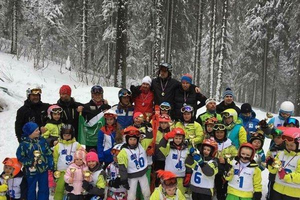 Predžiaci klubu Ski Team Martinské hole.