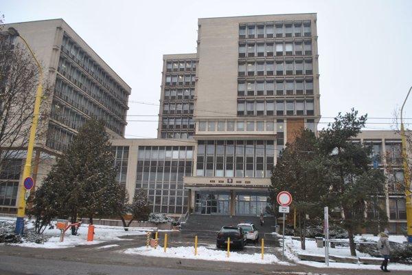 Budova košických súdov, kde pôsobia aj sudcovia z anonymu.