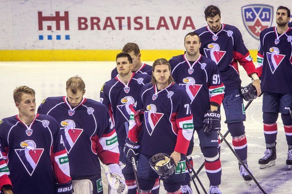 Slovan Bratislava pravdepodobne v ruskej KHL skončí.