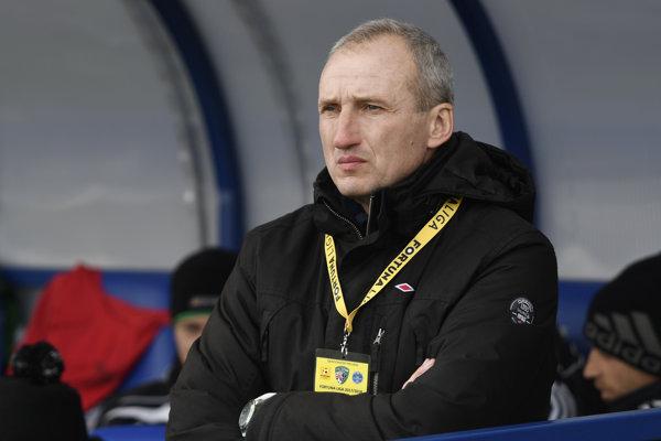 Tréner Prešova Anton MIšovec.
