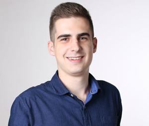 Šikovný študent Tomáš Varga.