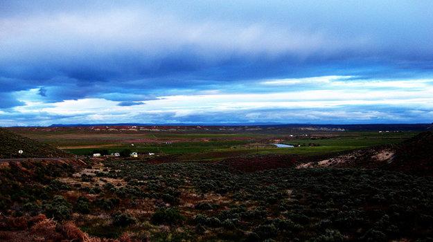 Údolie Jordánu je svieže a úrodné.